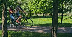 Cycle First Date Stock Footage