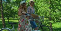 Romantic Summertime Weekend Stock Footage