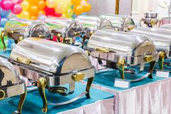 Countertop food warmer - stock photo