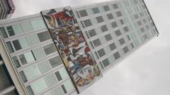 Haus des Lehrers in Berlin Stock Footage