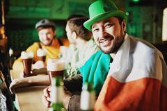 Irish tradition Stock Photos