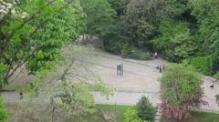 Botanic Garden Path - stock footage