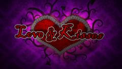 Love & Kisses - Valentine's Day Logo Stinger Stock After Effects