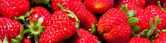 Fresh ripe strawberries close-up - stock photo