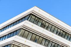 Library and Learning Center by Zaha Hadid Of Vienna University of Economics Stock Photos