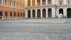 The Lateran Palace in Rome, Italy Stock Footage