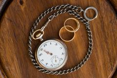 Time strengthen love - stock photo