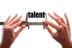 Small talent concept Stock Photos