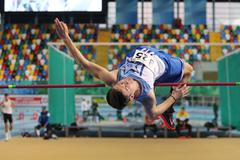 Turkish Athletic Federation Clubs Indoor Championship - stock photo