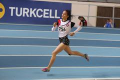 Turkish Athletic Federation Clubs Indoor Championship Stock Photos