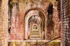 Aqueduct Arches Stock Photos