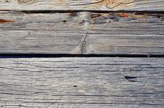 Background of old wood, sun-dried wood planks - stock photo