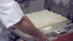 Making dough. Rising dough. Stock Footage