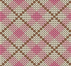 Stock Illustration of Seamless knitting vector pattern