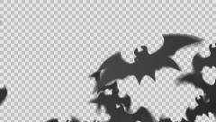 Batticles - Bat Particle Transition Stock Footage