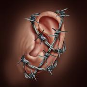 Human Ear Pain Piirros