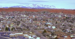 St.George Utah winter Stock Footage