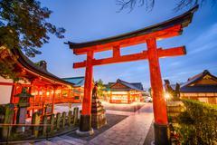Fushimi Inari Shrine of Kyoto - stock photo