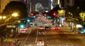 4K Night Cityscape Time Lapse 53 Traffic in LA Downtown 4k or 4k+ Resolution