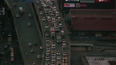 The M1 highway in Johannesburg - stock footage