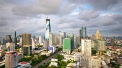 Bangkok, Thailand Skyline Stock Footage