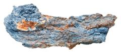 Stock Photo of rhodusite (blue asbestos, riebeckite) gemstone