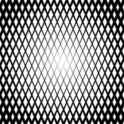 Background with gradient of diamond shaped cells grid Stock Illustration