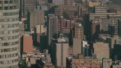 Johannesburg city centre Stock Footage