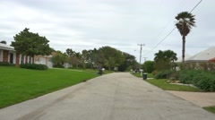 Boynton Beach residential neighborhood Stock Footage