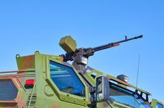 One machine gun Stock Photos