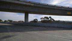 Driving Plates Multi Angle Freeway 13 CAM3 3/4 L Los Angeles 60fps - stock footage