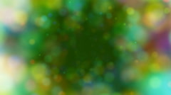 Rotating Swirl Video Background Loop - Green Stock Footage
