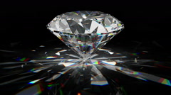 Diamond rotating Stock Footage