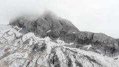 Jade Dragon Snow Mountain , Lijiang,Yunnan China. Stock Footage