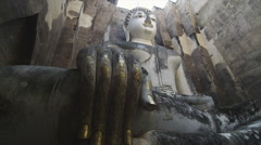 The ancient Historical Park of Sukhothai - stock footage