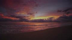 Treasure Coast, Florida Sunrise Stock Footage
