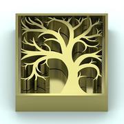 Jewelry golden key - stock illustration