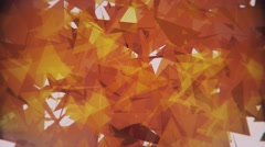 4K Lowpoly Triangles Background Animation 2 Stock Footage