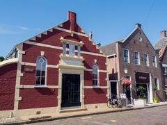 Historic building in the town of Elburg Stock Photos