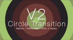 The Circle Transition V2 (30 pack) Stock After Effects