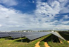 sustainable energy - stock photo