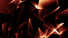 Lowpoly Triangles Motion Background Animation 1 Stock Footage