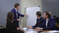 Business group joining hands - stock footage