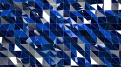 Shiny Lowpoly Abstract Seamless Looping Motion Background 6 Stock Footage