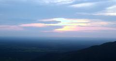 On Top of Mountain. Chapada dos Guimaraes, Brazil. Stock Footage