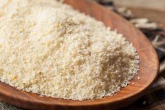 Raw Organic Dry Grits - stock photo