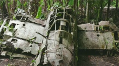 Zero Fighter Combat Japanese Military Airplane Plane Aircraft Wreck Peleliu Arkistovideo