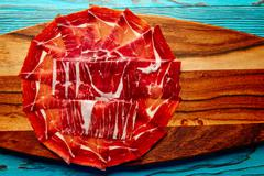 Jamon iberico han from Andalusian Spain - stock photo