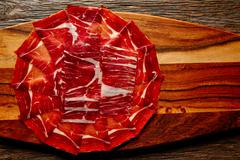 Jamon iberico han from Andalusian Spain Stock Photos