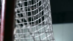 Ice Hockey Goal Stock Footage